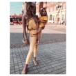 Chloe szett - sárga