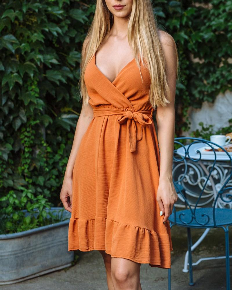 Ildy ruha -narancssárga
