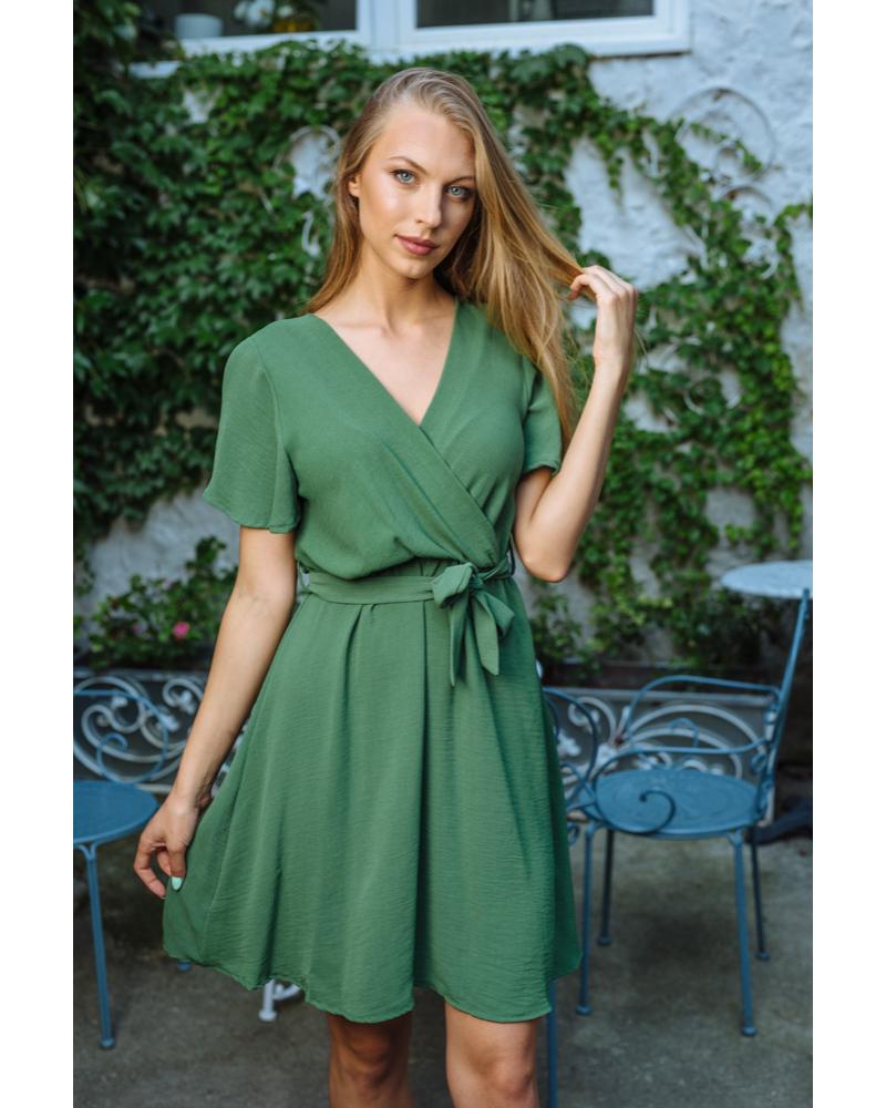 Natalia ruha sötétzöld
