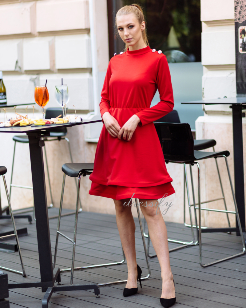 Tatjana ruha - piros