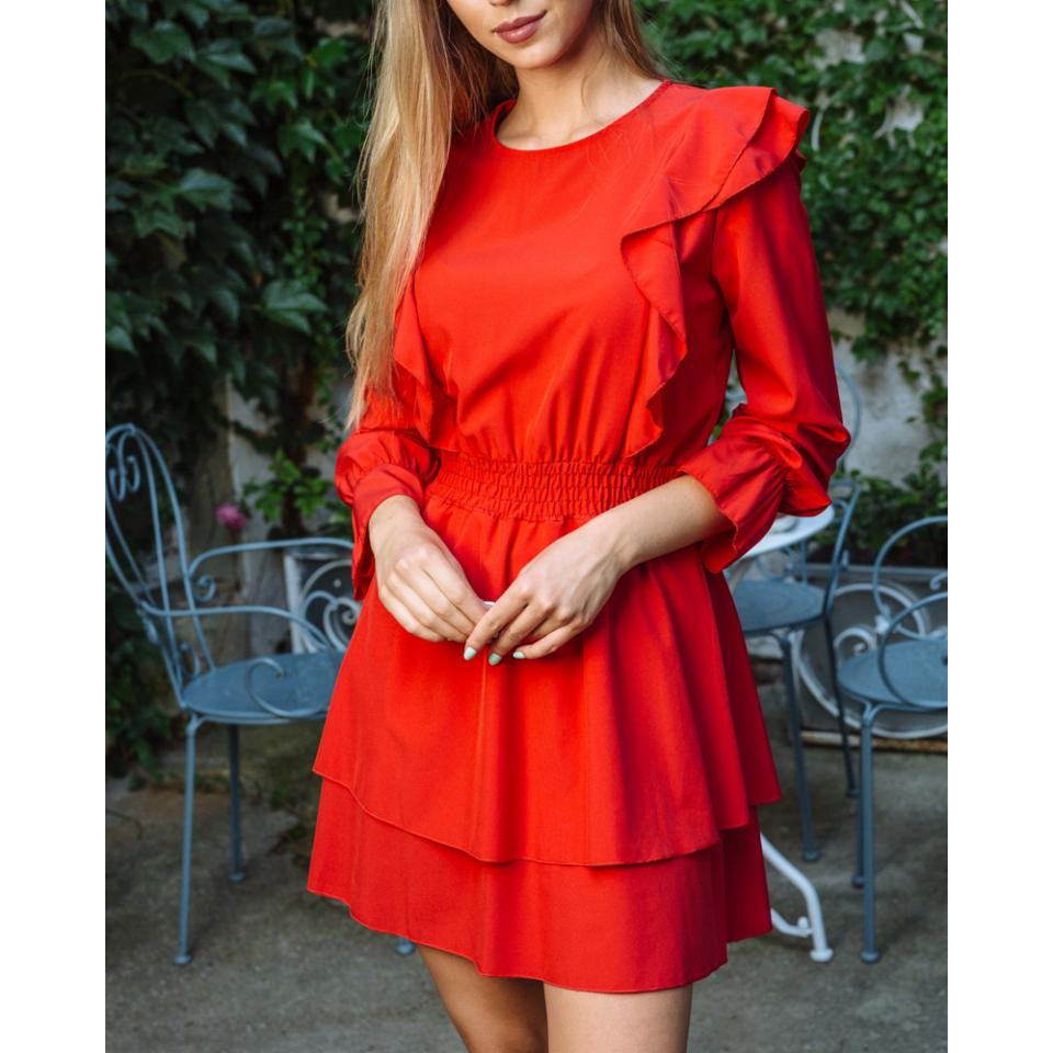Rebeka ruha -piros