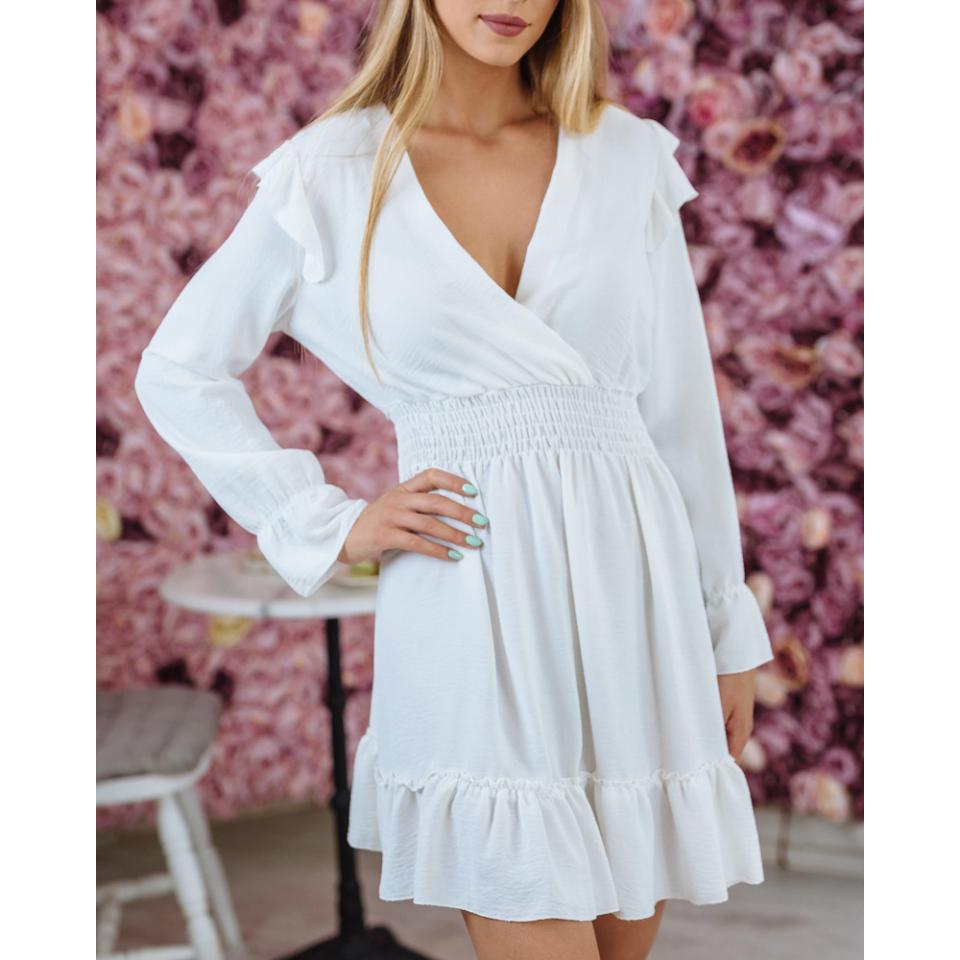 Scarlet ruha - fehér
