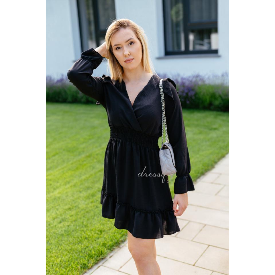 Scarlet ruha - fekete