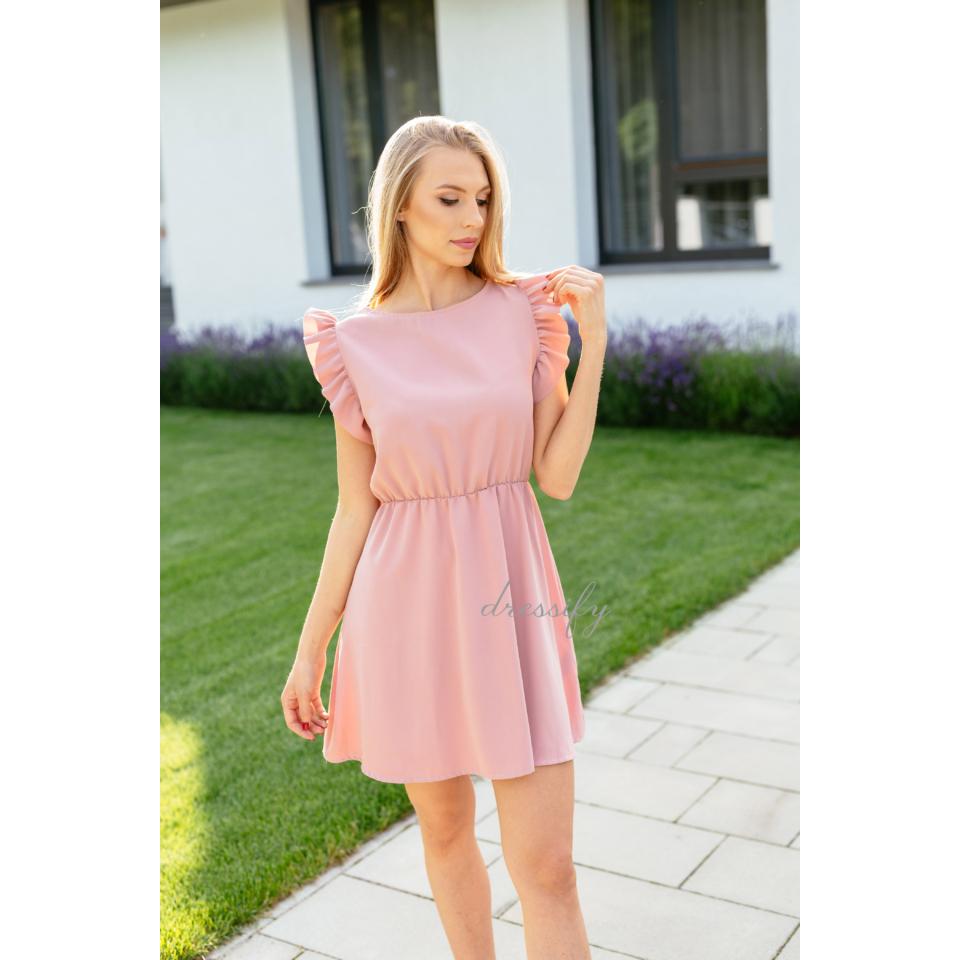Sylvie ruha babarózsaszín